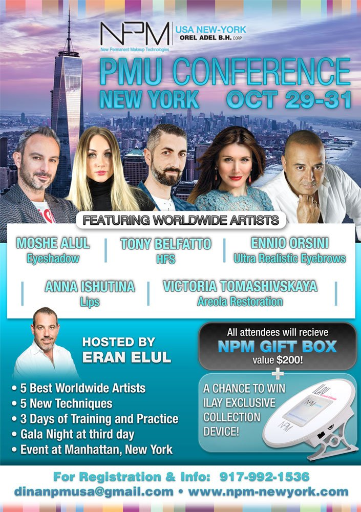 Permanent MakeUp Conference ※※※ New York