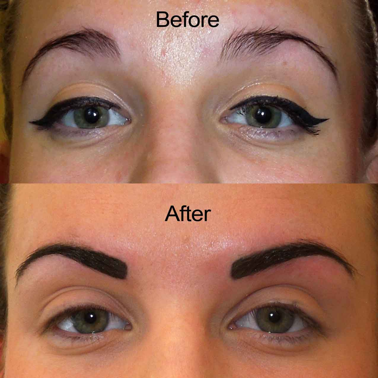 Bad Permanent Makeup Microblading And Permanent Makeup Tian Studio