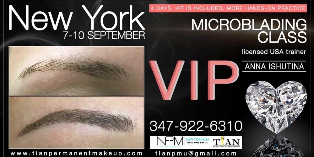 VIP Microblading Class in New York - Microblading and