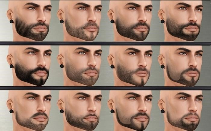 Permanent tattoo will camouflage and correct sparse beard